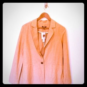 "DREW Anthropologie Medium blazer ""Sunset"" NWT"